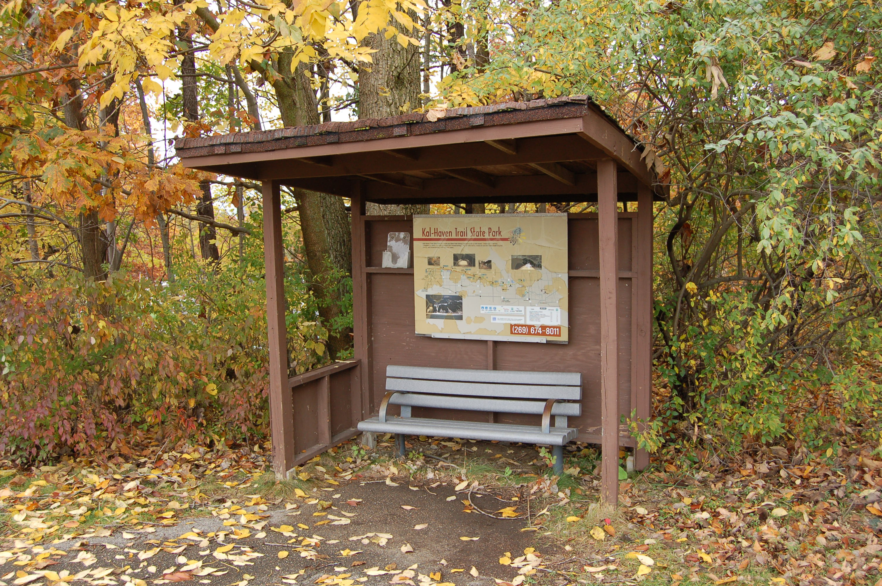 Kal Haven Trail Informational Sign