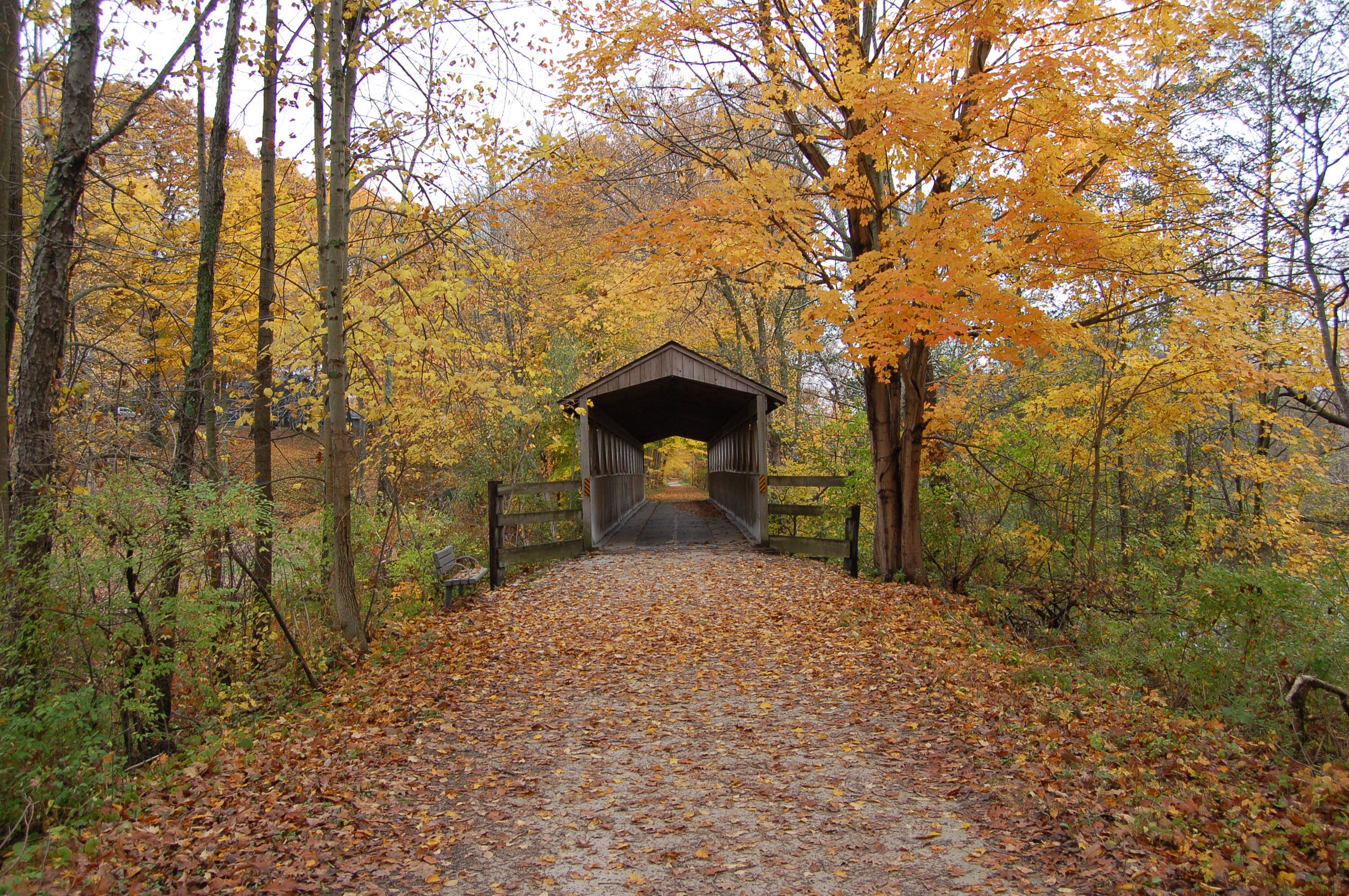 Kal Haven Trail Nichols Covered Bridge