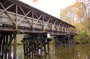 Kal Haven Trail Reflection Bridge