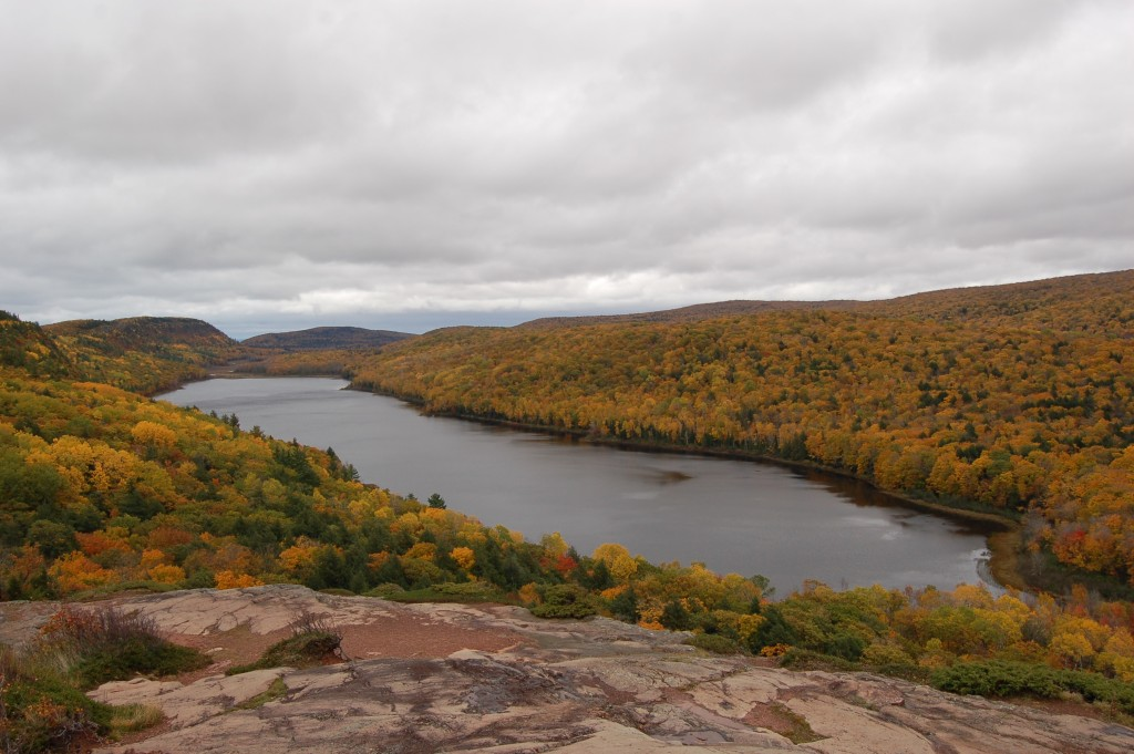 Lake of the Clouds Fall Color 2016 Michigan