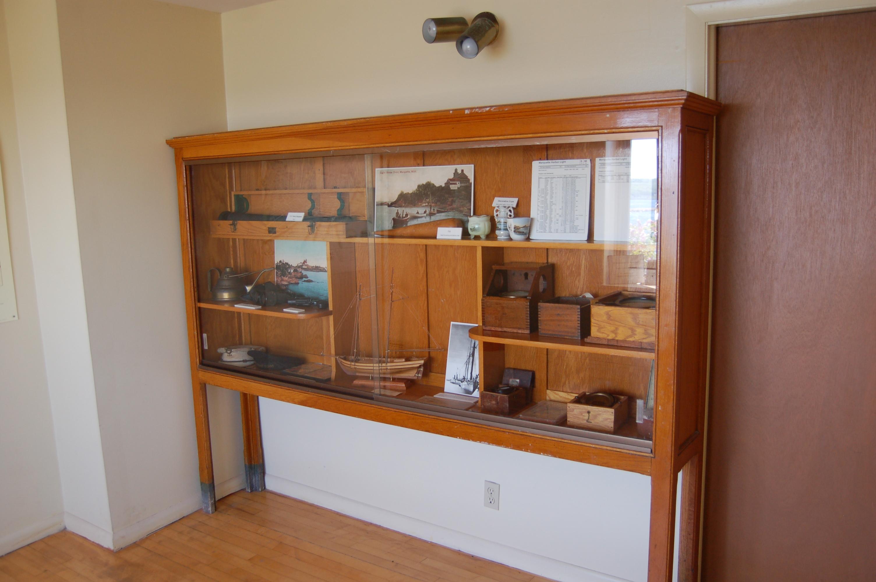 Marquette Harbor Lighthouse Indoor Exhibit