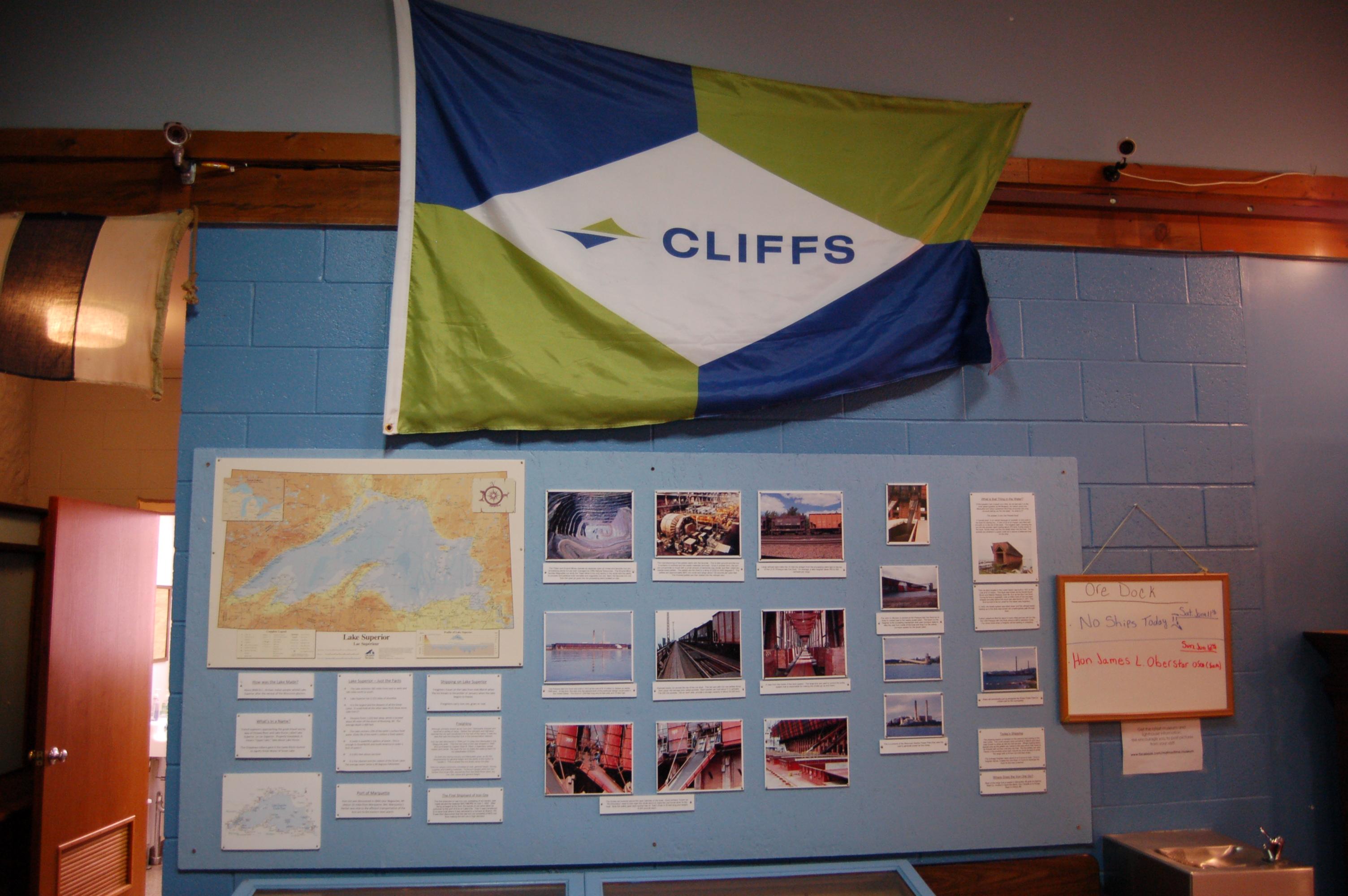 Marquette Maritime Museum Cliffs