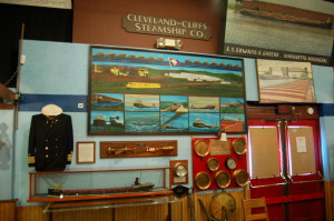 Marquette Maritime Museum Shipping Exhibit
