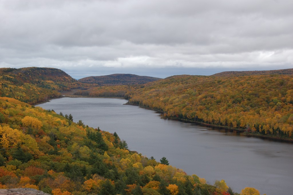 Porcupine Mountains Fall Color 2016