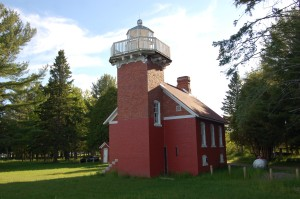 Sand Point Baraga Lighthouse Michigan