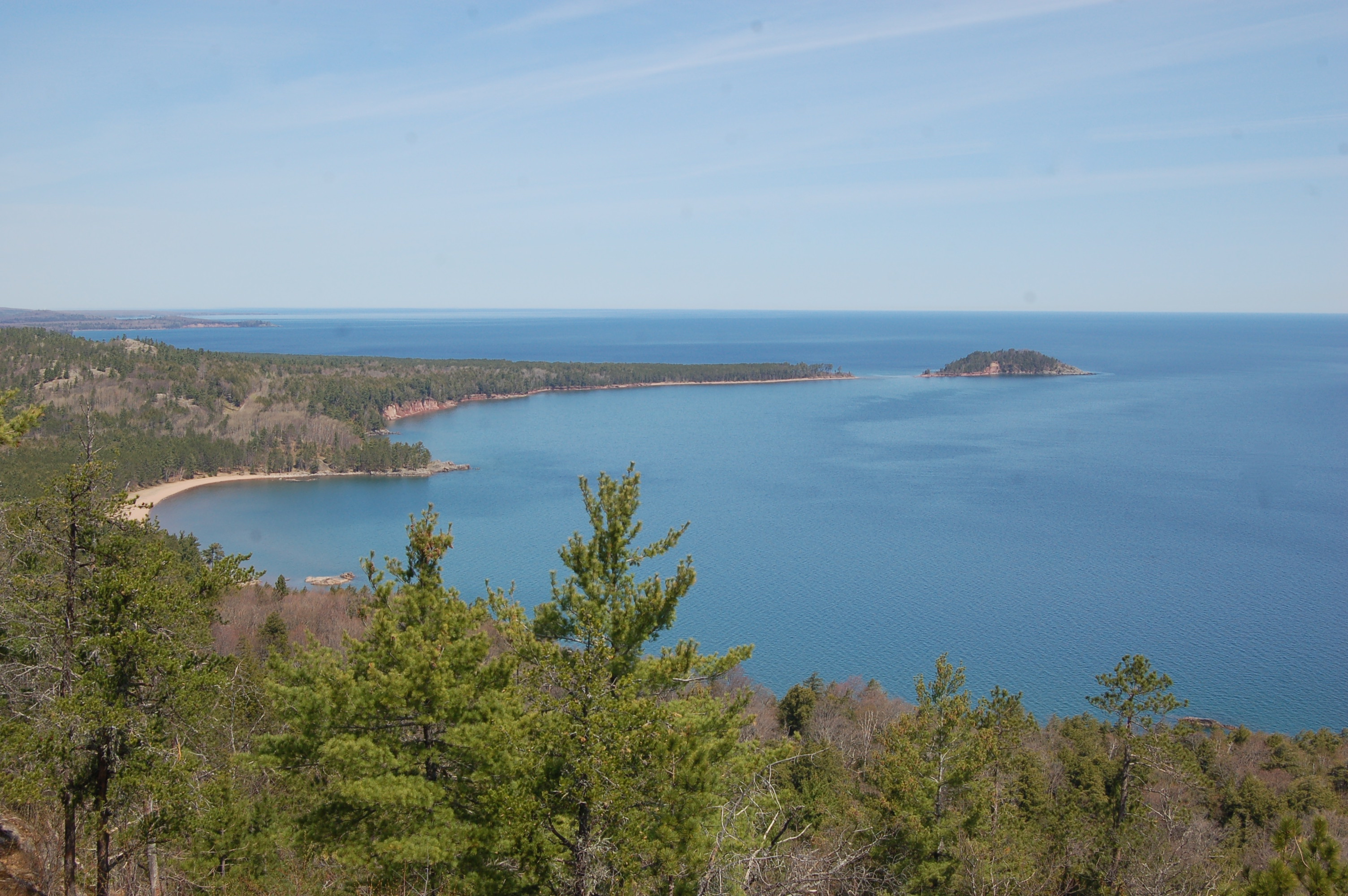 Sugarloaf Little Presque Marquette Lake Superior