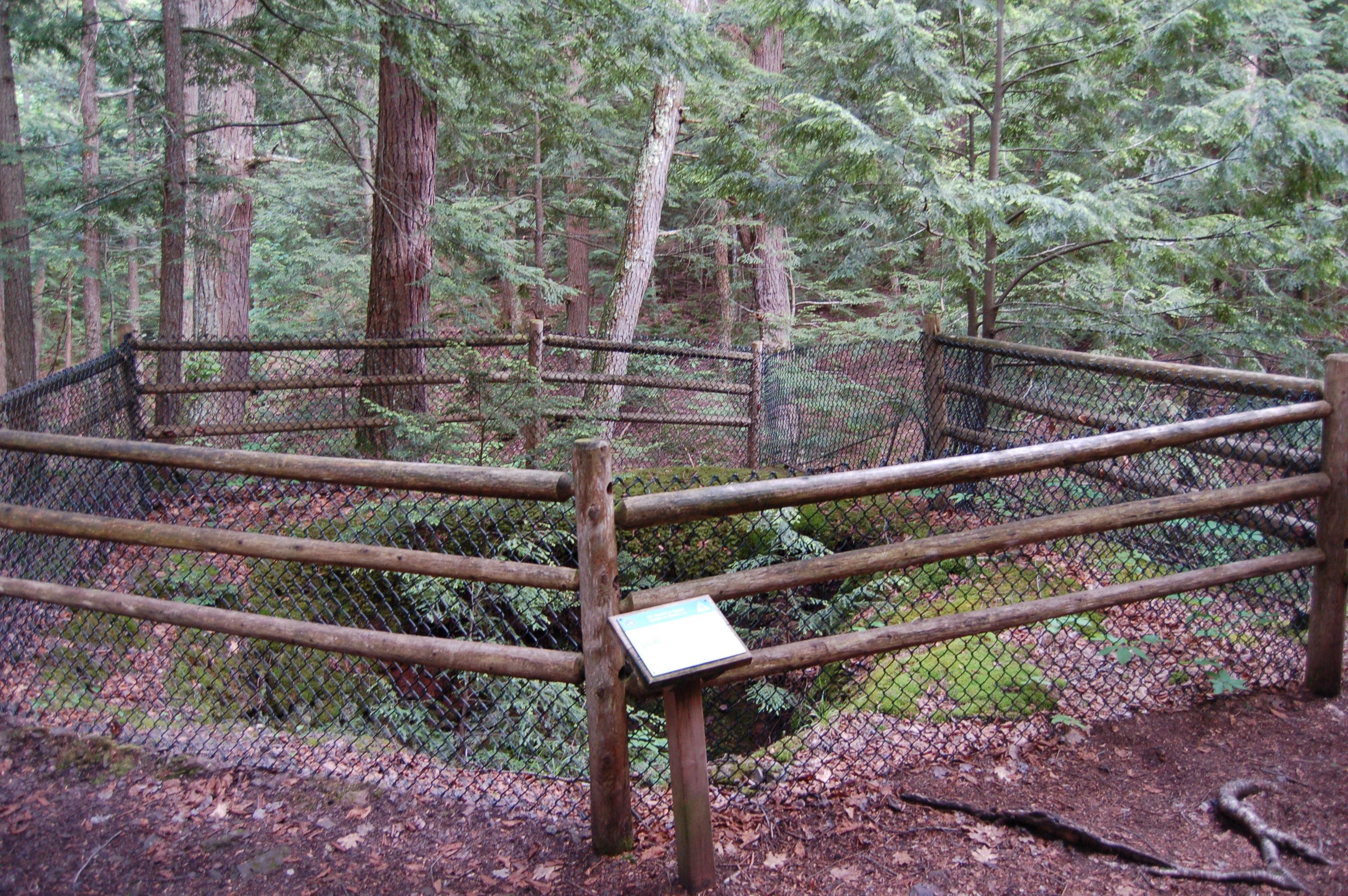 Union Mine Trail Porcupine Mountains Ruins Michigan