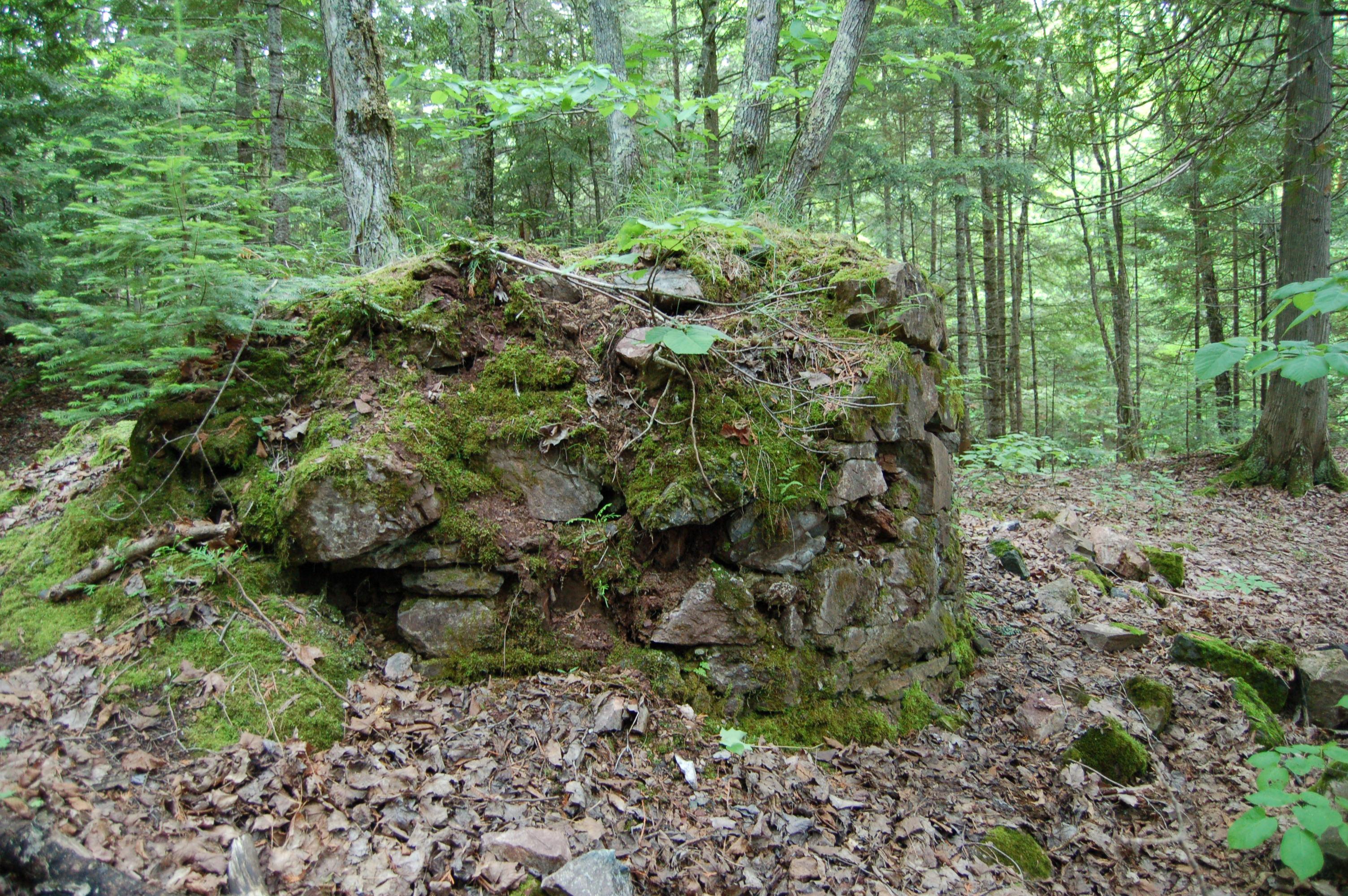 Union Mine Trail Ruins Porcupine Mountains