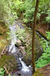 Union Mine Trail Waterfall