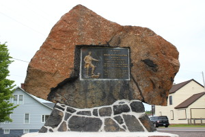 Douglass Houghton Memorial Michigan Feature Photo