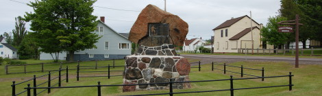 Michigan Roadside Attractions: Douglass Houghton Memorial, Eagle River