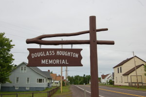 Douglass Houghton Sign Eagle River MI