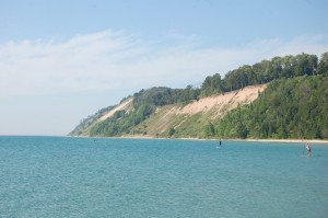 Frankfort Lake Michigan Dune Bluffs