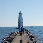 Frankfort North Breakwater Lighthouse – Lake Michigan