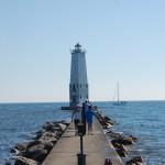 Frankfort North Breakwater Lighthouse – Lake Michigan