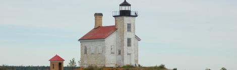 Gull Rock Lighthouse - Lake Superior