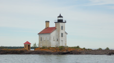 Gull Rock Lighthouse - Lake Superior