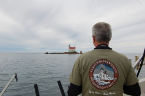 Gull Rock Lighthouse Keweenaw Brewing Company Michigan