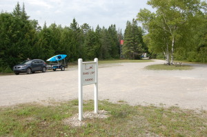 Presque Isle Front Range Light Parking Area