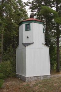 Presque Isle Front Range Light Top Photo