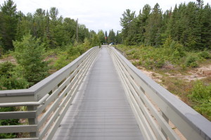 Presque Isle Range Light Park Boardwalk