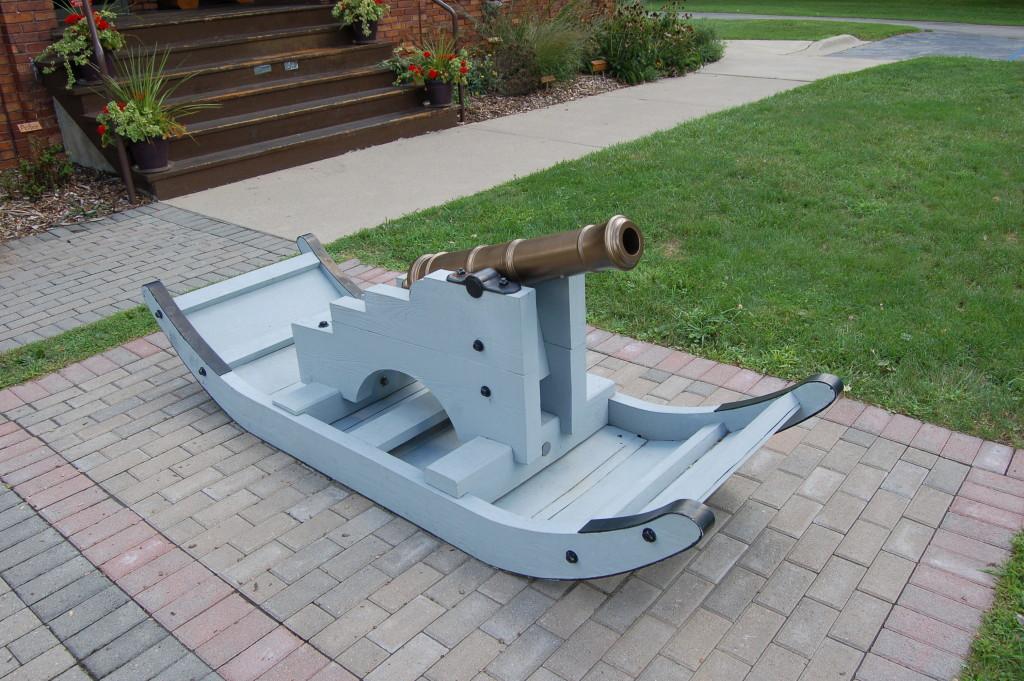 River Raisin National Battlefield Park Cannon