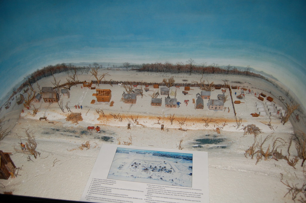 River Raisin National Battlefield Park Diorama