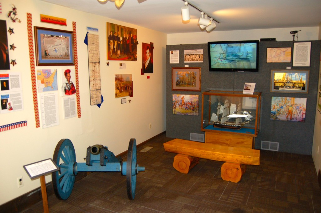 River Raisin National Battlefield Park Monroe Indoor Displays