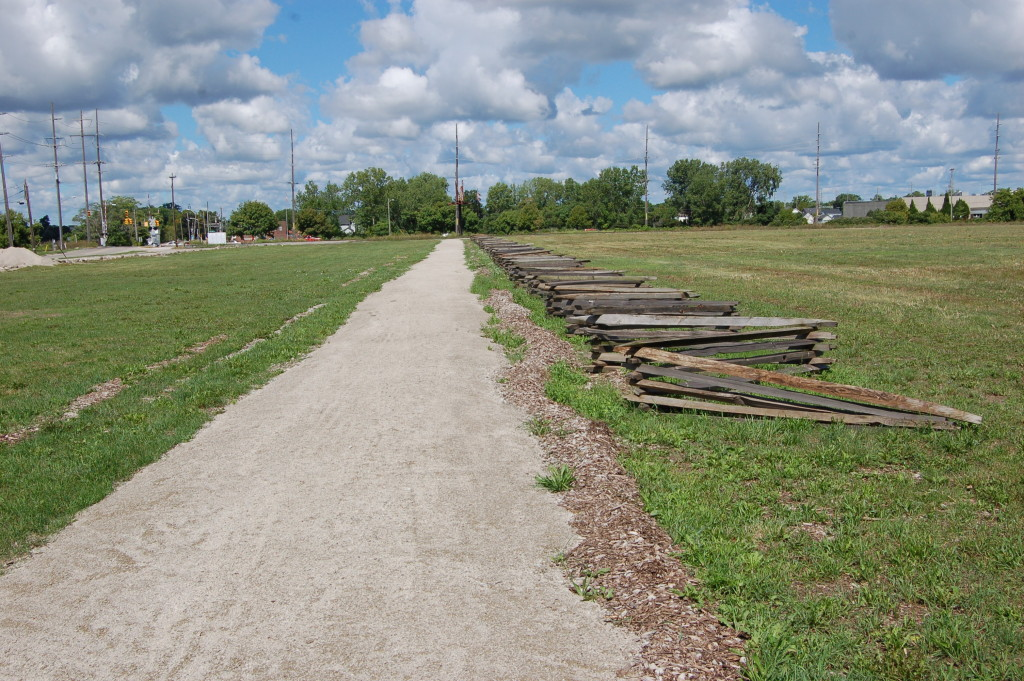 River Raisin National Battlefield Park Path Michigan