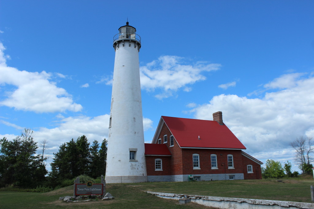 Tawas Point Lighthouse Feature Photo Michigan