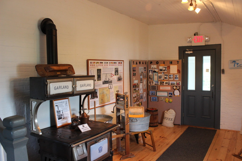 Tawas Point Lighthouse Interior Museum Michigan