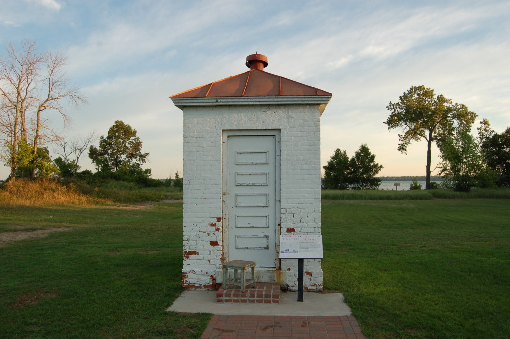 Tawas Point Lighthouse Michigan Oil House