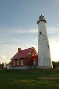 Tawas Point Lighthouse Michigan Top Post