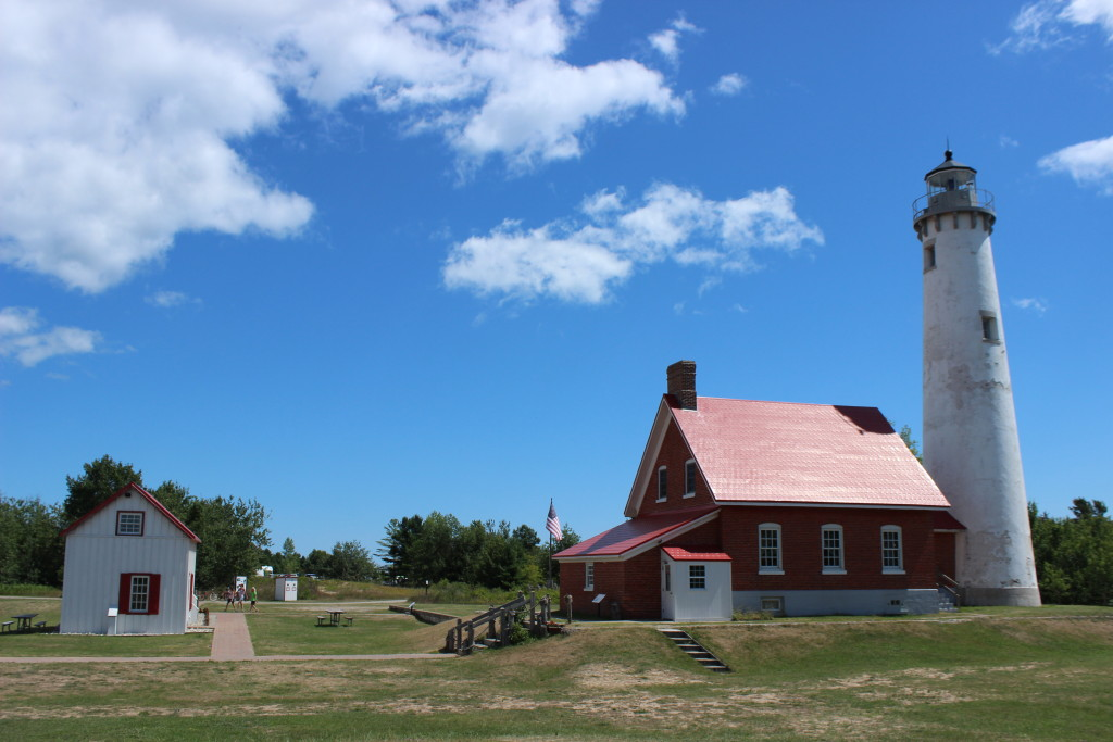 Tawas Point Lighthouse Tower and Dwelling