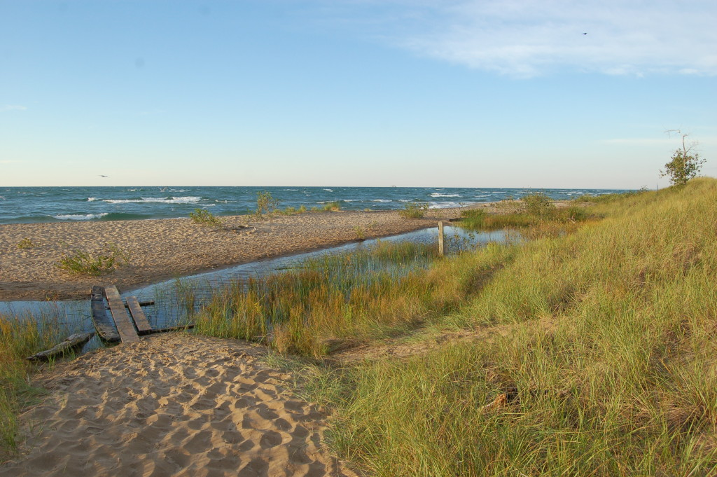 Tawas Point State Park Lake Huron Beach