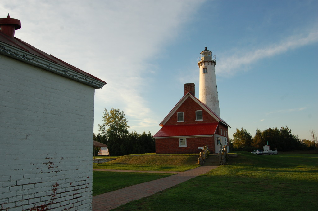 Tawas Point State Park Lighthouse Oil House