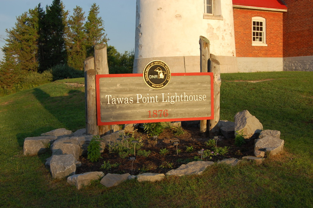 Tawas Point State Park Lighthouse Sign