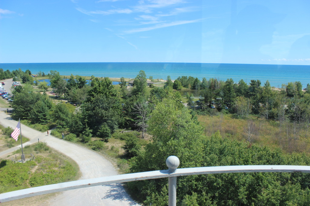 Tawas Point State Park Lighthouse Tower View 1