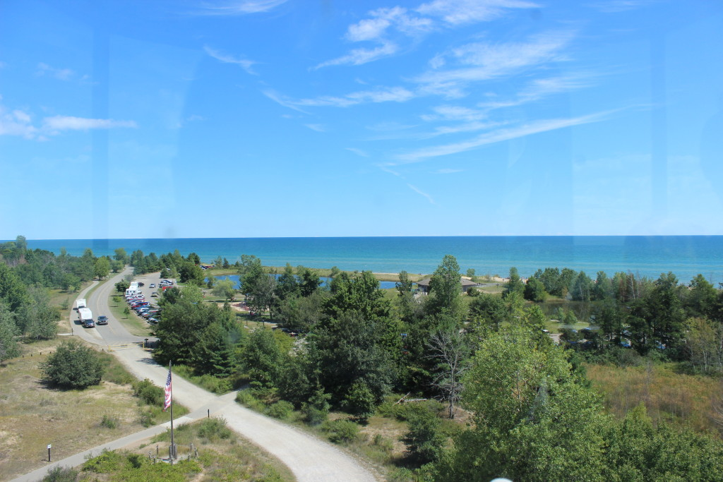 Tawas Point State Park Lighthouse Tower View 2