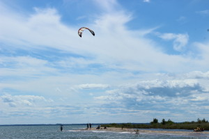 Tawas Point State Park MI Kite Beach