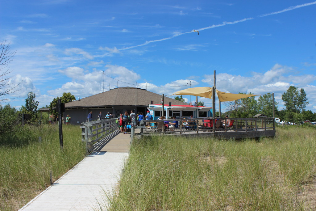 Tawas Point State Park Tawas Grille Restaurant