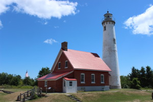 Tawas Point State Park Victorian Lighthouse Michigan