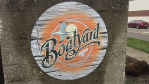 Kalamazoo Boatyard Brewing Company Sign