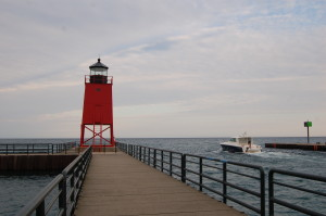 Charlevoix South Pier Light Feature Photo