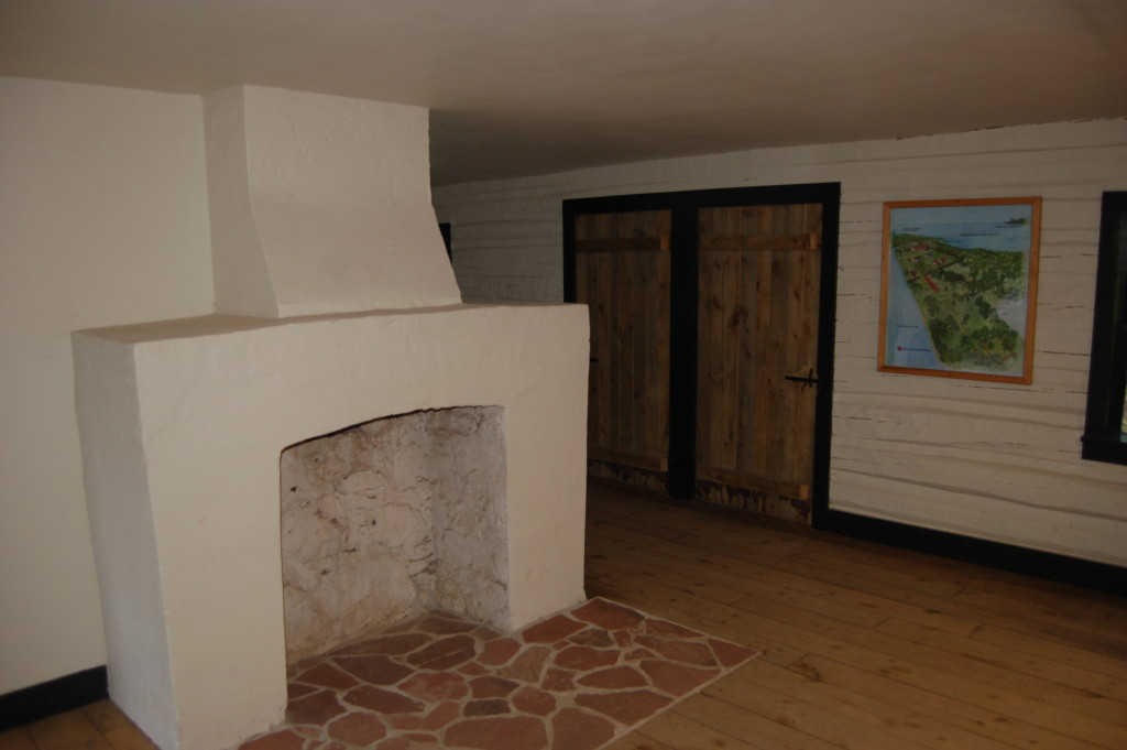 Fort Wilkins Historic State Park Building Interior