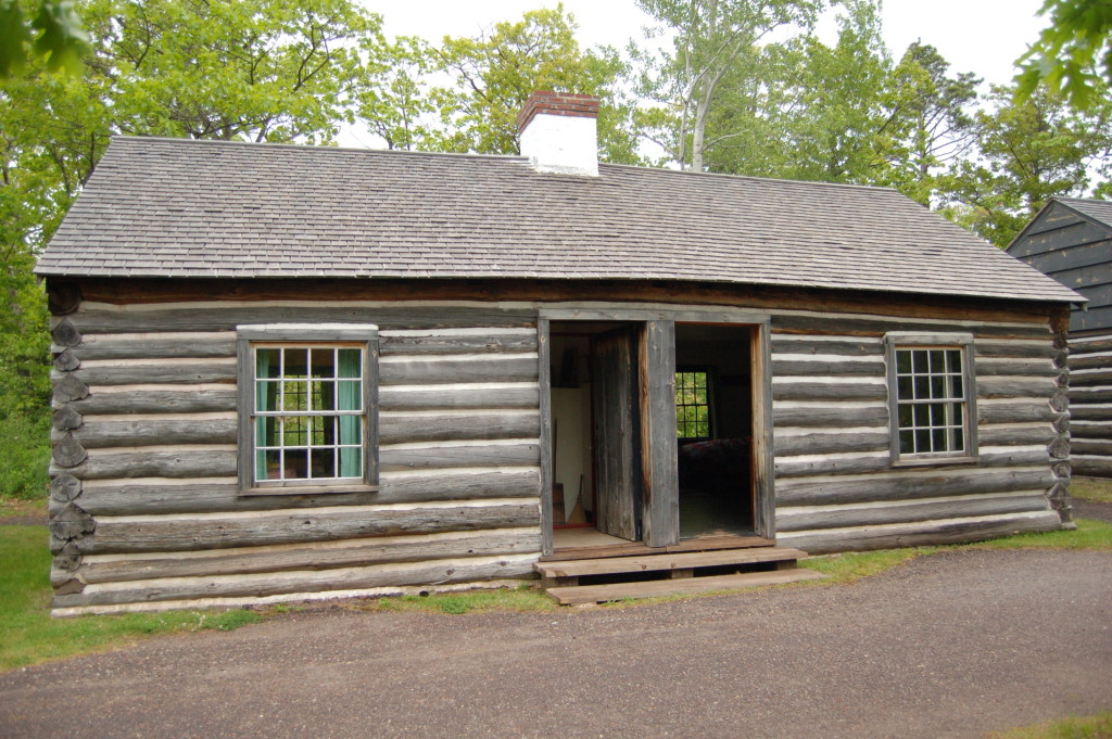 Fort Wilkins Historic State Park Cabin
