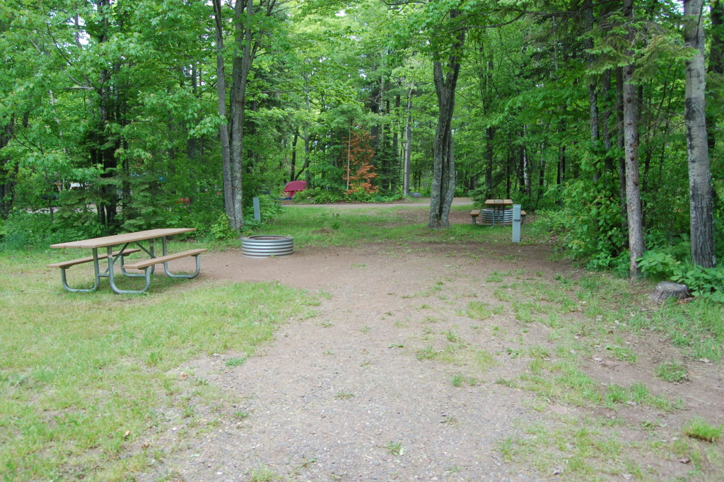 Fort Wilkins Historic State Park Campground West