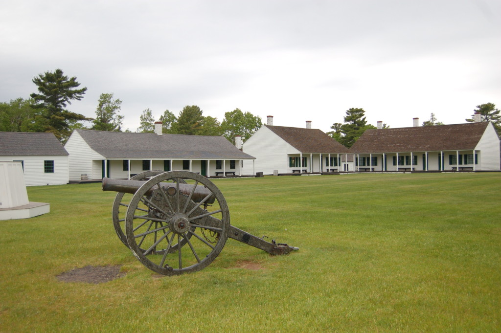 Fort Wilkins Historic State Park Cannon Barracks