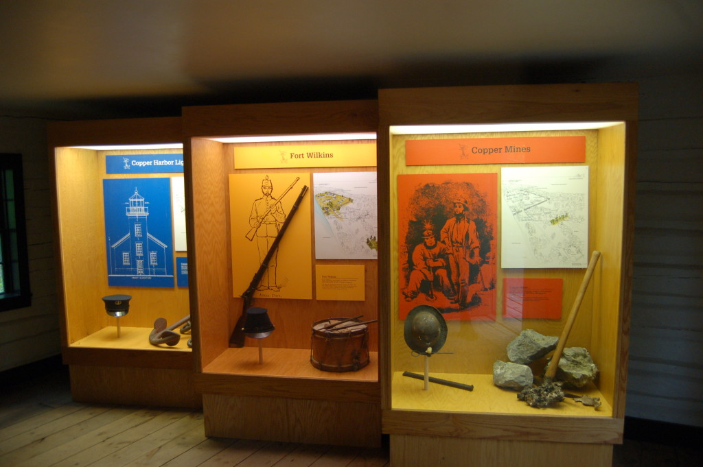 Fort Wilkins Historic State Park Displays