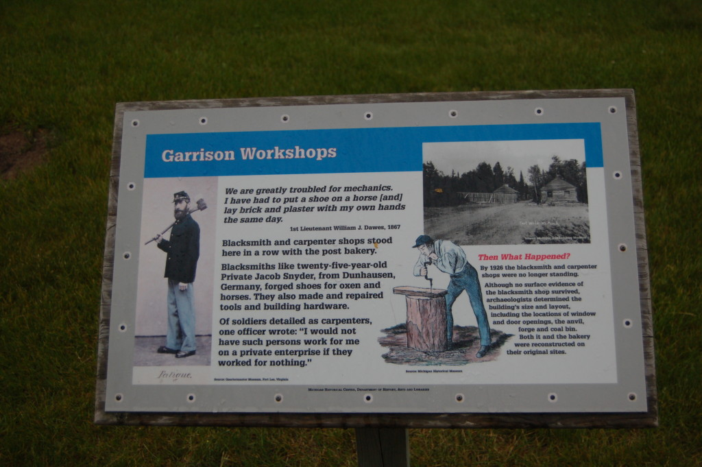 Fort Wilkins Historic State Park Garrison Workshops